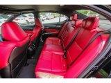 2018 Acura TLX V6 SH-AWD A-Spec Sedan Rear Seat