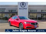 San Marino Red Acura TLX in 2018