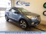 2018 Blue Metallic Ford Escape SEL 4WD #126382145