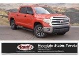 2016 Inferno Orange Toyota Tundra SR5 CrewMax 4x4 #126382050