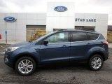 2018 Blue Metallic Ford Escape SE 4WD #126407698