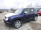 2018 Jetset Blue Jeep Renegade Limited 4x4 #126407466