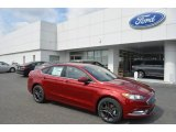 2018 Ruby Red Ford Fusion SE #126407446
