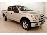 White Gold Ford F150 in 2017