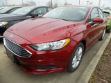 2018 Ruby Red Ford Fusion SE #126435289