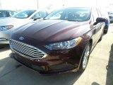 2018 Burgundy Velvet Ford Fusion SE #126435286