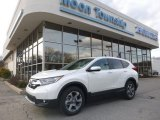 2018 White Diamond Pearl Honda CR-V EX AWD #126435120