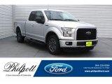 2016 Ingot Silver Ford F150 XLT SuperCab #126435168
