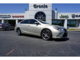 2015 Creme Brulee Mica Toyota Camry XSE #126435161