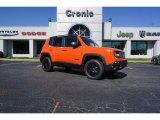 2018 Omaha Orange Jeep Renegade Trailhawk 4x4 #126435157