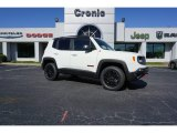 2018 Alpine White Jeep Renegade Trailhawk 4x4 #126435156