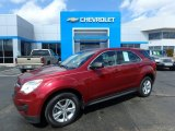 2010 Cardinal Red Metallic Chevrolet Equinox LS AWD #126435090