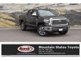 2018 Midnight Black Metallic Toyota Tundra 1794 Edition CrewMax 4x4 #126434966