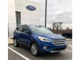 2017 Lightning Blue Ford Escape Titanium #126464169