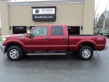 2015 Ruby Red Ford F250 Super Duty XLT Crew Cab 4x4 #126464150