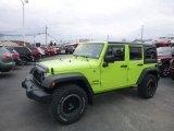 2017 Hypergreen Jeep Wrangler Unlimited Sport 4x4 #126464024
