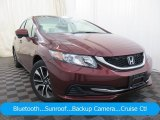2015 Rallye Red Honda Civic EX Sedan #126464091