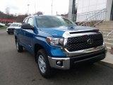 Blazing Blue Pearl Toyota Tundra in 2018