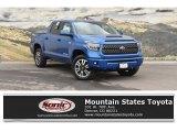 2018 Blazing Blue Pearl Toyota Tundra SR5 CrewMax 4x4 #126491244
