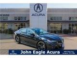 2018 Crystal Black Pearl Acura TLX V6 A-Spec Sedan #126491270