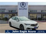 2018 Bellanova White Pearl Acura TLX V6 A-Spec Sedan #126491269