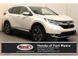 2018 White Diamond Pearl Honda CR-V Touring #126491261
