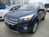 2018 Blue Metallic Ford Escape SE #126517709