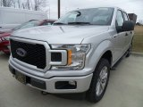 2018 Ingot Silver Ford F150 XLT SuperCrew 4x4 #126517730