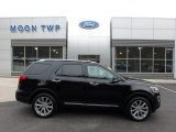 2017 Shadow Black Ford Explorer Limited 4WD #126517640