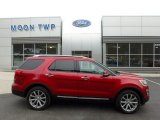 2016 Ruby Red Metallic Tri-Coat Ford Explorer Limited 4WD #126517639