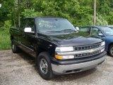 2001 Onyx Black Chevrolet Silverado 1500 Extended Cab 4x4 #12643729
