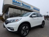 2015 White Diamond Pearl Honda CR-V Touring #126517633