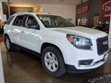 2013 Summit White GMC Acadia SLE #126530635