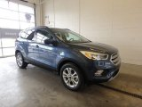 2018 Blue Metallic Ford Escape SEL 4WD #126530674