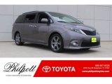 2015 Predawn Gray Mica Toyota Sienna SE #126530753