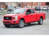 2018 Race Red Ford F150 STX SuperCab 4x4 #126530714