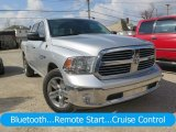 2014 Bright Silver Metallic Ram 1500 Big Horn Crew Cab 4x4 #126530593