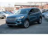2018 Blue Metallic Ford Escape Titanium 4WD #126530707