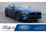 2018 Lightning Blue Ford Mustang GT Fastback #126530737