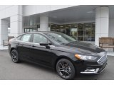 2018 Shadow Black Ford Fusion SE #126530694