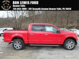 2018 Race Red Ford F150 XLT SuperCrew 4x4 #126530651