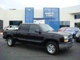 2005 Black Chevrolet Silverado 1500 Z71 Crew Cab 4x4 #12643664
