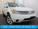 Pearl White Nissan Murano in 2006