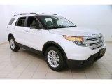 2011 White Platinum Tri-Coat Ford Explorer XLT 4WD #126549823