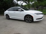2015 Bright White Chrysler 200 S #126549873