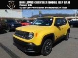 2018 Solar Yellow Jeep Renegade Sport 4x4 #126579986