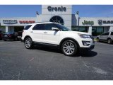 2017 White Platinum Ford Explorer Limited #126579934