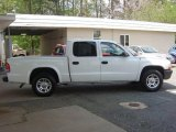 2003 Bright White Dodge Dakota SXT Quad Cab #12635014
