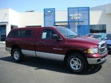 2003 Dark Garnet Red Pearl Dodge Ram 1500 SLT Regular Cab 4x4 #12643710