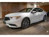 2018 Bellanova White Pearl Acura TLX V6 Technology Sedan #126579811